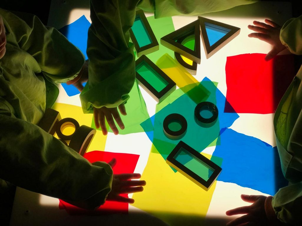Proyecto científico, sistema de aprendizajes tempranos. L'Olivera, escuela infantil de Castelldefels.